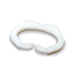 Neusring ( anti-pik ) 20 mm breed, plat/ speciaal, verpakking per 100 stuks