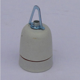 Keramische fitting ( E27 ) met ophangnippel