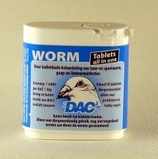 Wormtabs DAC, All in One, 50 tabletten