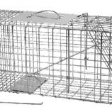 Vangkooi klein model 67 x 24 x 31,5 cm, verzinkt