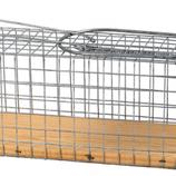 Rattenvangkooi met houten bodem