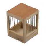 Vogel nestkastje hout (kanarie)