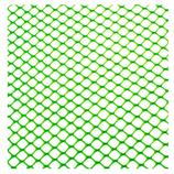 Zeskant plastic gaas 9x9mm, groen, rol 25×1.0m