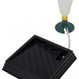 Verdampingsset compleet voor broedmachine, tray 30 x 30 cm