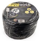 PVC slang soepel zwart 9 mm/ 2 laags