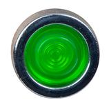 Neonlampje ø20 mm LED groen, voor gat ø13 mm, 230 V