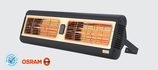 MONACO Double IP Infrarot-Heizung 2 x 1,5 kW