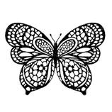Timbro Farfalla