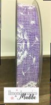 Nastro soffione h.2,5 Lavanda