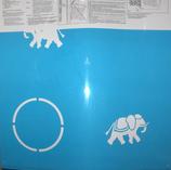 Plantilla o stencil 50X50 cm. WP-40