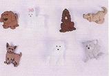 Botones desfile perritos