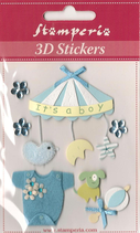 3D Stickers Sba-296