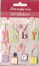 3D Stickers Sba-297
