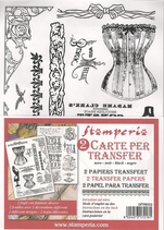 Papel transfer Stamperia-002