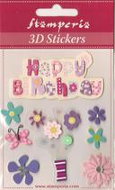 3D Stickers Sba-293