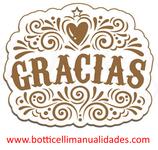 """Etiqueta """"Gracias"""""""