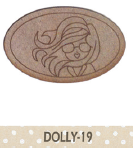 Silueta Dolly broche o diadema -19