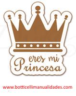 """Etiqueta """"Eres mi princesa"""""""