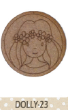 Silueta Dolly broche o diadema -23