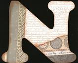Letra N (sin decorar)