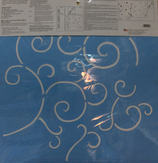 Plantilla o Stencil 50x50 cm. PS-8