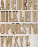 Letras de la A a la Z