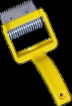 Entdeckelungsgabel, -hobel mit Kunststoffgriff