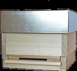 Holzbeute MINI-PLUS mit Metalldeckel