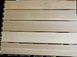 Dadant US Anflugbrett aus Holz (lang)  mit Haken und Ösen