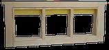 DNM Honigraumrahmen flach inkl. 3 Holzrähmchen für Wabenhonig und Verpackung