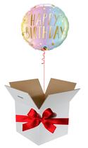 Balloon Giftbox Happy Birthday