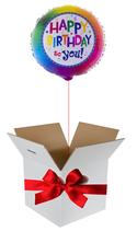 Balloon Giftbox Birthday