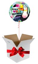Balloon Giftbox  Wild Birthday