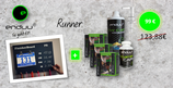 RUNNER - enduu Low-Carb-Ausdauer-Paket + FinisherBoard (7 Produkte)