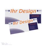 Flyer im DIN-Lang Format