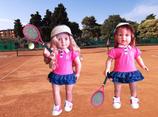 Tennis Bekleidung für Stehpuppe von OG-Doll - für Kinder ab 3 Jahre