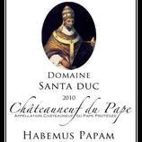 Châteauneuf-du-Pape 2010 Habemus Papam