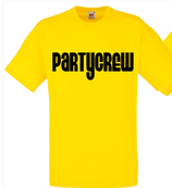 Partycrew Shirt Gelb