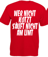 Nicht am Limit Shirt Rot