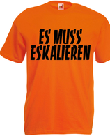Eskalieren Shirt Orange