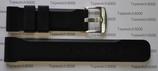 SMW-Biel Rubber-Strap 22mm, Stahlschliesse