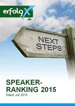Speakerranking 2015: Die 50 online-aktivsten Speaker und Trainer