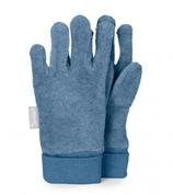 Sterntaler - Gants en polar bleu clair