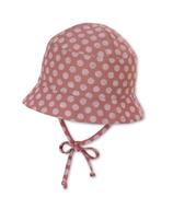 STERNTALER - Chapeau rose à pois blanc
