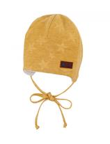 Sterntaler - Bonnet bébé beannie jaune