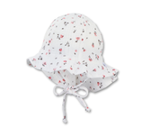 Sterntaler - 1er Chapeau de soleil (blanc à fleurs en tétra)