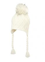 Sterntaler - Bonnet péruvien blanc