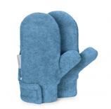 Sterntaler - Moufles en polar bleu clair