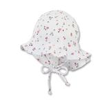 Sterntaler - Chapeau de soleil blanc à fleurs