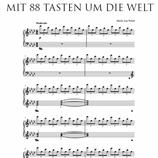 Mit 88 Tasten um die Welt - Noten